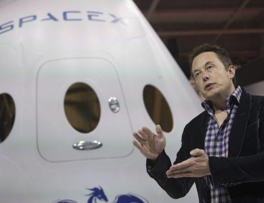 File-photo-of-SpaceX-CEO-Musk-speaking-after-unveiling-the-Dragon-V2-spacecraft-in-Hawthorne
