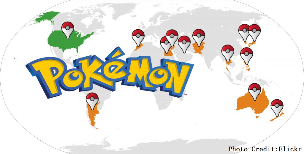 Pokemon Go遊戲大紅!除了新鮮感,遊戲中的四大元素才是關鍵!