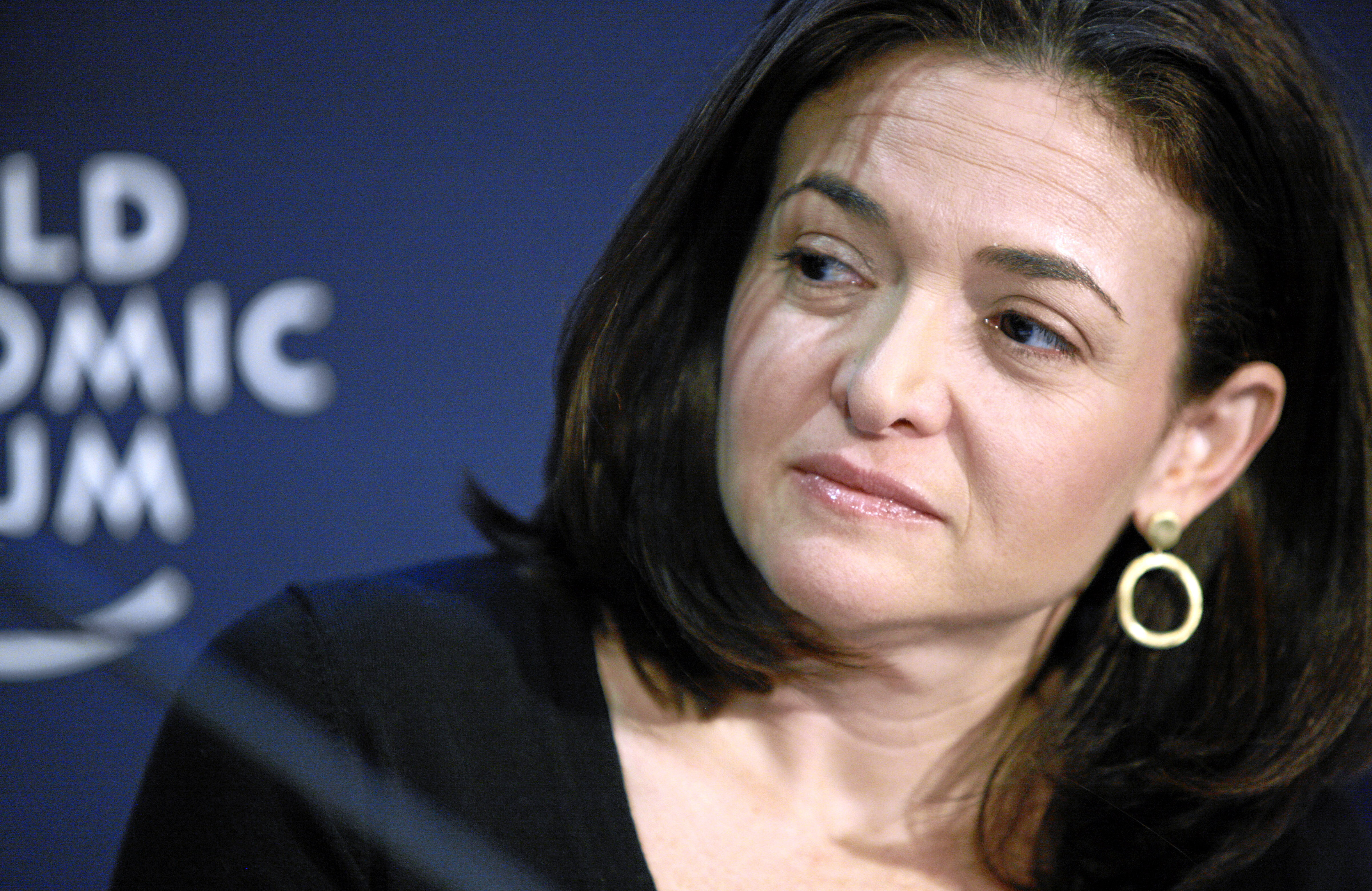 DAVOS/SWITZERLAND, 28JAN11 - Sheryl Sandberg, Chief Operating Officer, Facebook, USA; Young Global Leader are captured during the session 'Handling Hyper-connectivity' at the Annual Meeting 2011 of the World Economic Forum in Davos, Switzerland, January 28, 2011. Copyright by World Economic Forum swiss-image.ch/Photo by Jolanda Flubacher