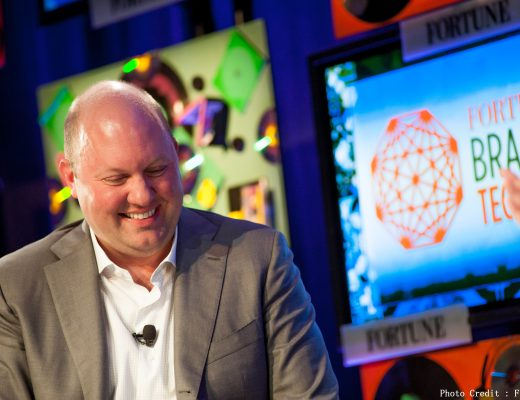 Monday, July 16th, 2012. Aspen, CO, USA  3:10 PM ONE ON ONE  Marc Andreessen, Co-founder and General Partner, Andreessen Horowitz  Interviewer: Andy Serwer, Fortune  Photograph by Kevin Maloney/Fortune Brainstorm Tech