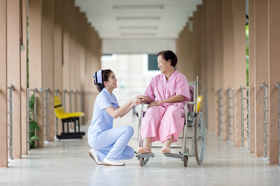 Caretaker Care For Talk Hospital Assistance