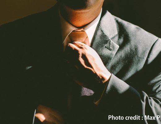 Tie Adjust Necktie Business Adjusting Man