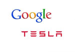 google_tesla_logos