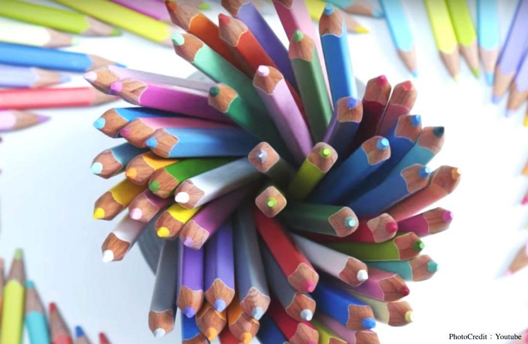用「創新」跟「驚喜」讓日本這套要價1萬9千台幣的色鉛筆不斷秒殺!