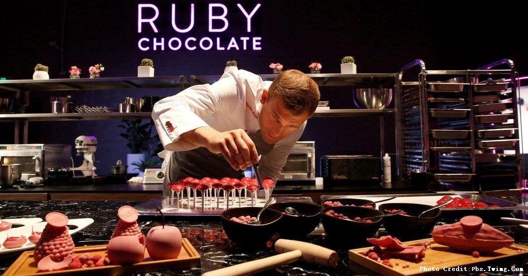 誰說巧克力只有黑或白!誰說巧克力一定要死甜?這款無添加的「紅寶石」巧克力,在銷量下滑的巧克力產業,逆勢成長