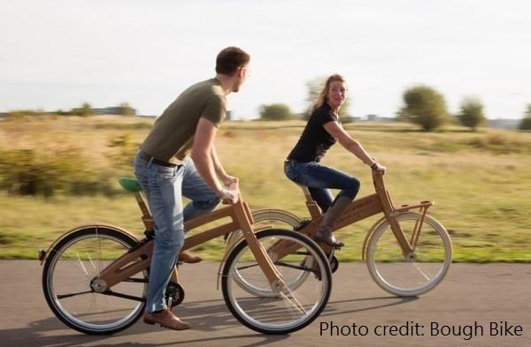 3C產品充斥的時代,「溫暖」變成最大賣點。這家斯洛維尼亞的單車公司,用木頭讓騎車有了溫度