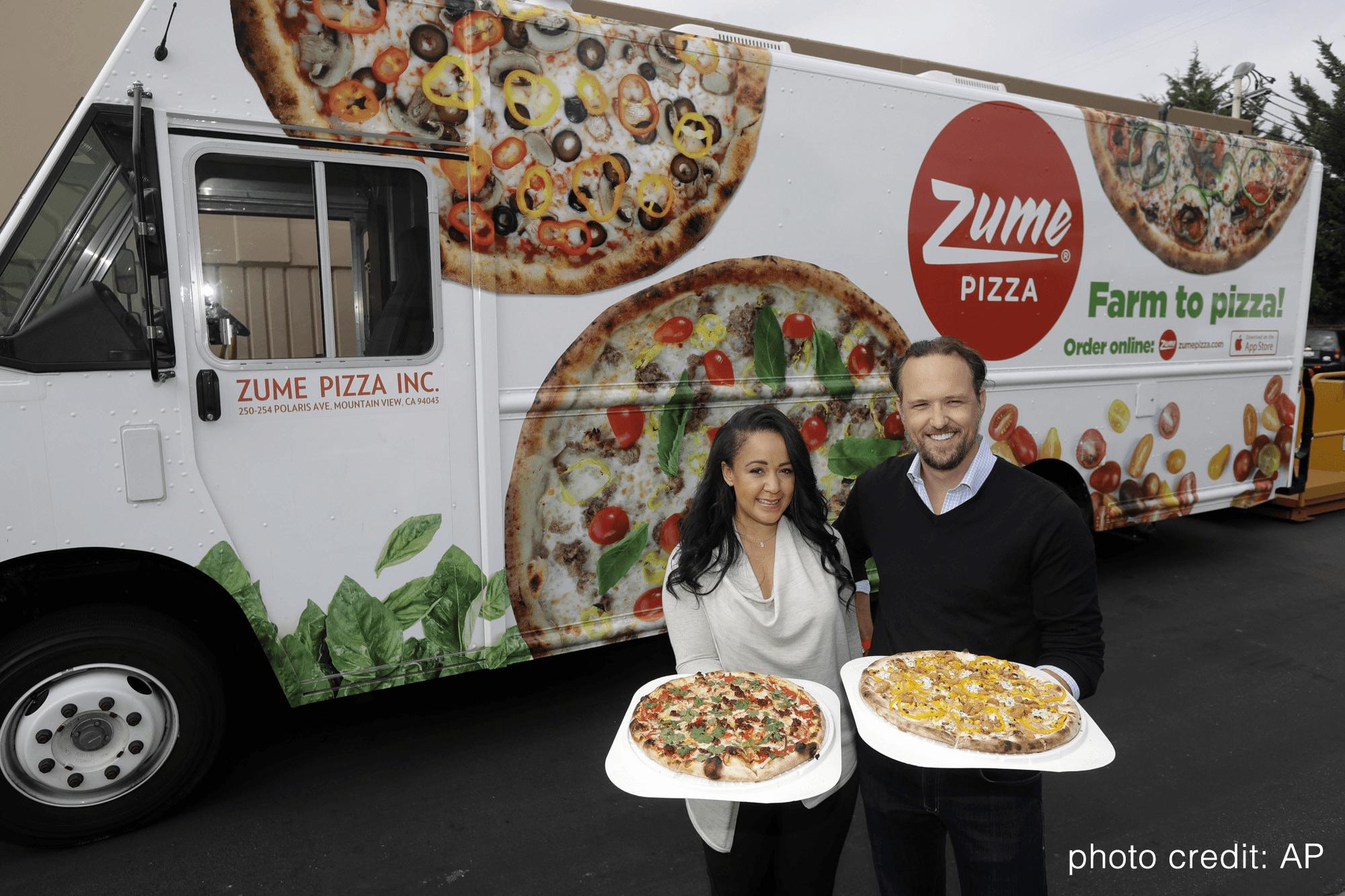 如何確保送到家的披薩是熱的?在運送的路上再烤!這家新創公司把運輸從「成本」,變成「商機」!