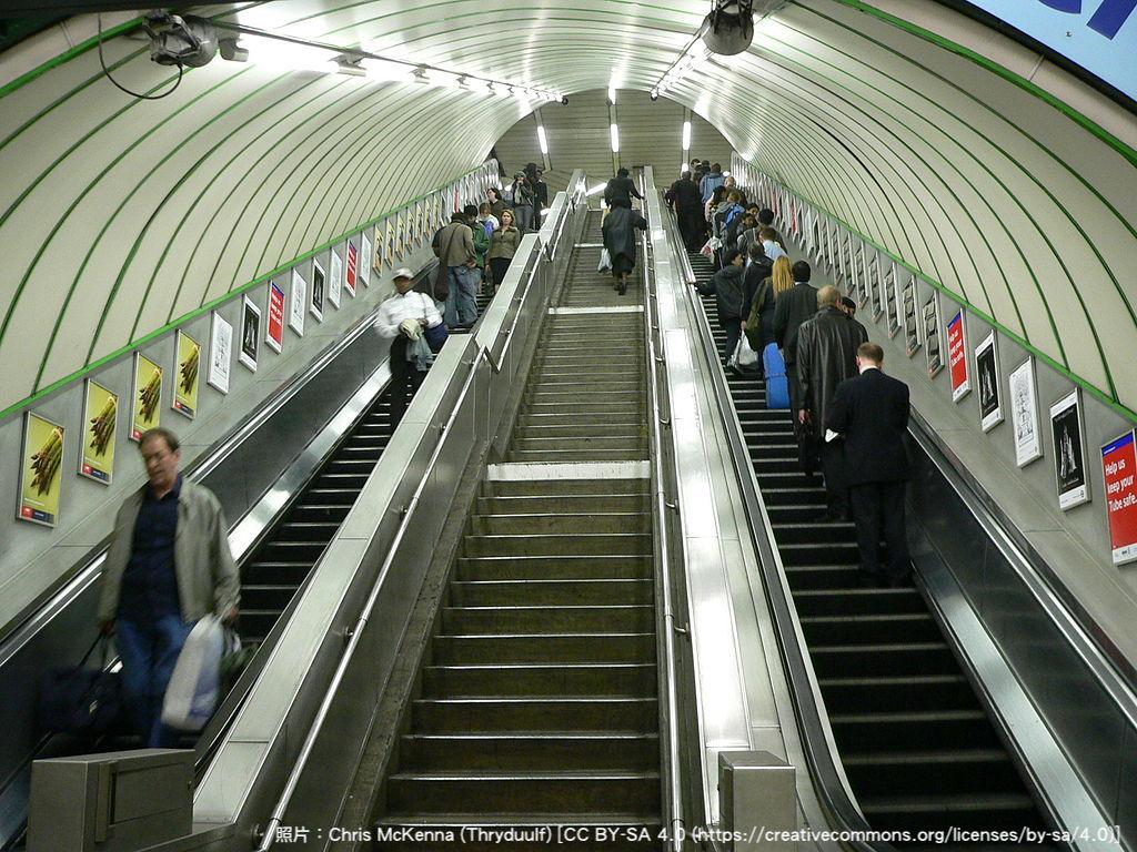 為什麼倫敦捷運的電扶梯左側不讓乘客快速通過?「系統化思考」翻轉了習以為常的慣例